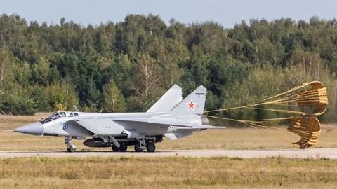 Tên lửa chống vệ tinh của MiG-31 là đạn đạo tầm trung?