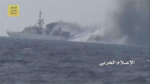 Houthi dùng tên lửa chống tăng diệt gọn tàu liên quân