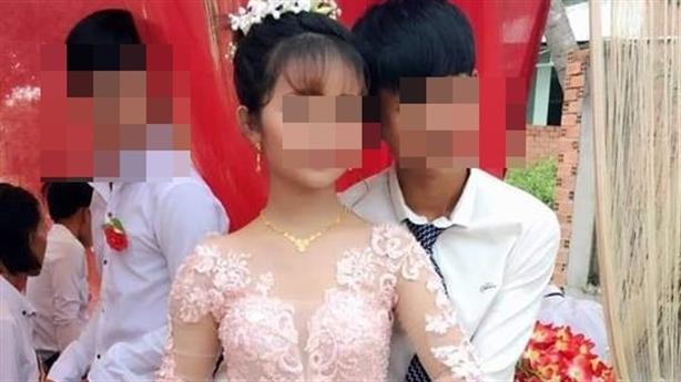 Xôn xao đám cưới cô dâu 12, chú rể 14: Lời thật