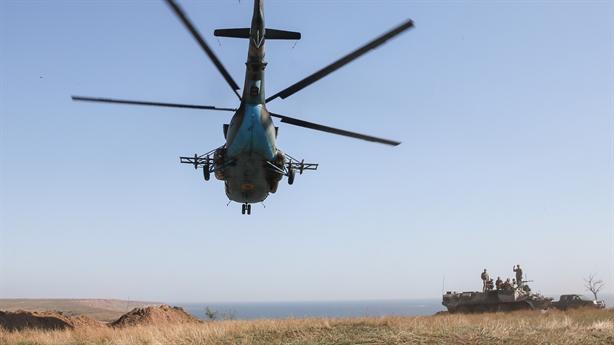 Hình ảnh vũ khí Ukraine đốt nóng Biển Azov
