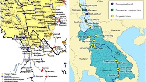 Mekong, sông quốc tế và không chia cắt