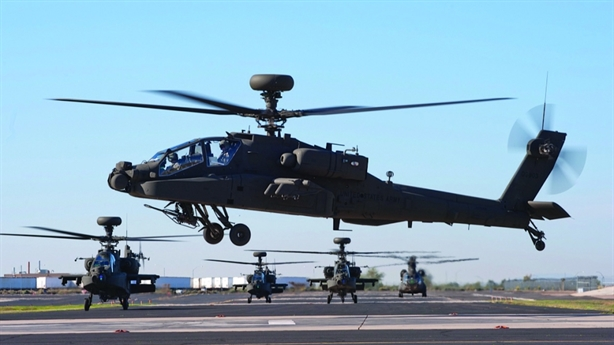 Trực thăng AH-64E Mỹ mất phương hướng khi săn mục tiêu