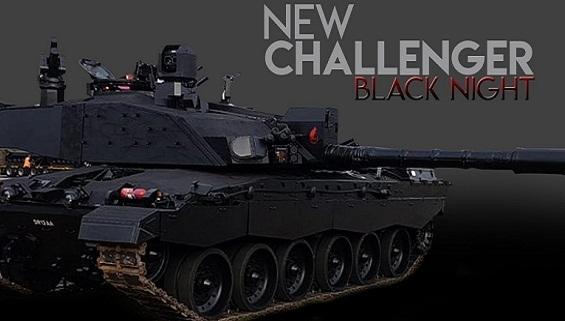 T14 Armata Nga khiến tăng Black Night Anh chìm trong 'Đêm đen'