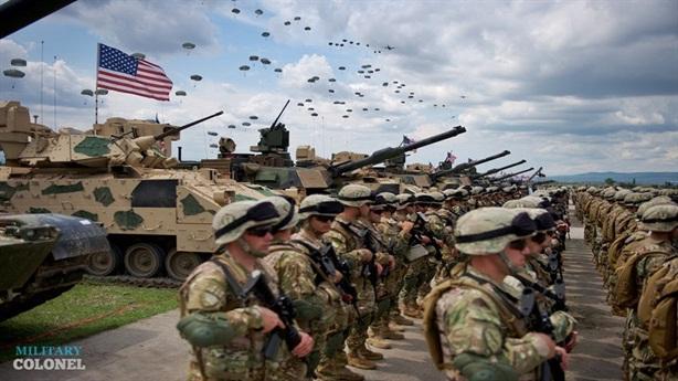 Mỹ đốt tiền cho kế hoạch kéo quân vào châu Âu?
