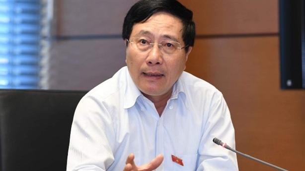 Ông Phạm Bình Minh: Sự kiện Mỹ-Trung gây lo ngại nếu...