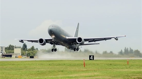 Trung Quốc giật mình khi KC-46A đến Nhật Bản