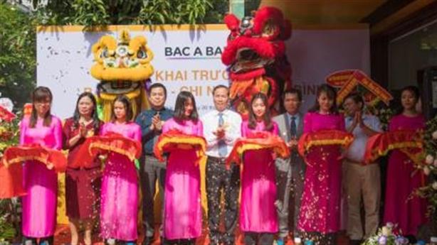 BAC A BANK - Khai trương Chi nhánh Thái Bình