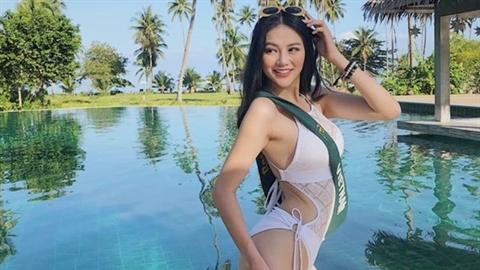 Người đẹp Việt đăng quang Hoa hậu Trái đất đẹp thế nào?