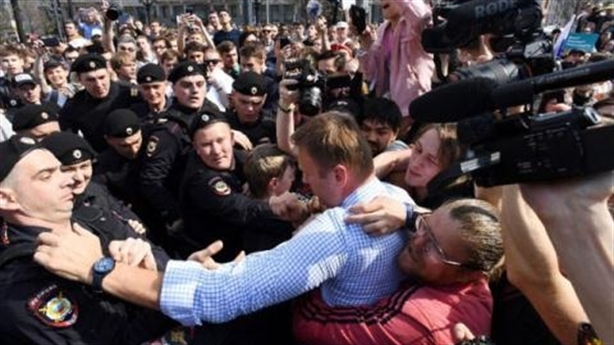 Thấy gì khi biểu tình ở Nga năm 2018 tăng đột biến?