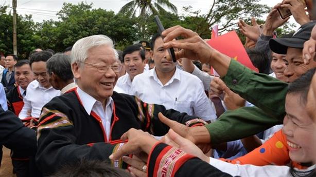 Tổng Bí thư, Chủ tịch nước Nguyễn Phú Trọng thăm Đắk Lắk
