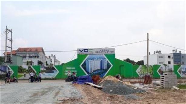 Dự án Green Mark: Bãi đất trống vẫn nhận tiền cọc?
