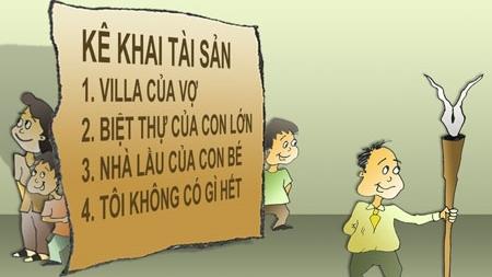 Hà Nội phát hiện 1 cán bộ kê khai không trung thực