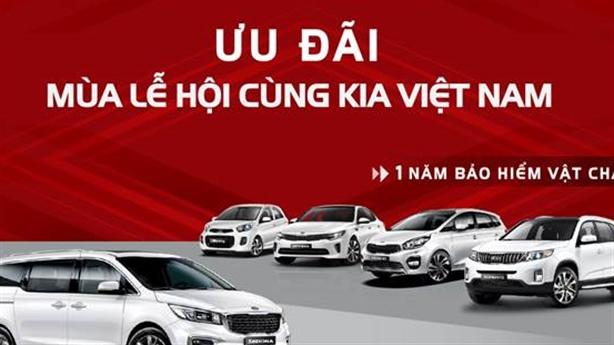 Chương trình tri ân đặc biệt từ Kia Việt Nam