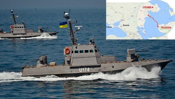 Ukraine tố tàu Nga đâm vỡ máy tàu chiến trên biển Azov