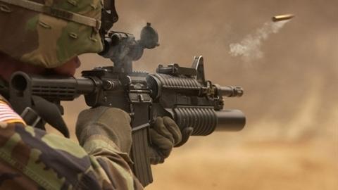 Mỹ dồn phát bắn hủy diệt vào đạn cỡ nhỏ