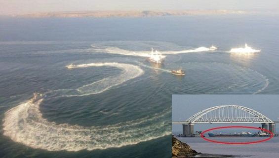 Bốn nguyên nhân khởi phát leo thang xung đột trên biển Azov
