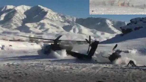 Trực thăng Apache bị phá hủy khi chưa kịp cất cánh