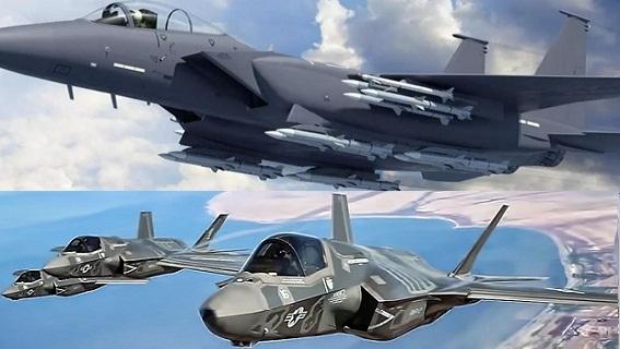 Cách Nhật dùng song sát F-15/F-35 đối mặt sòng phẳng Trung Quốc
