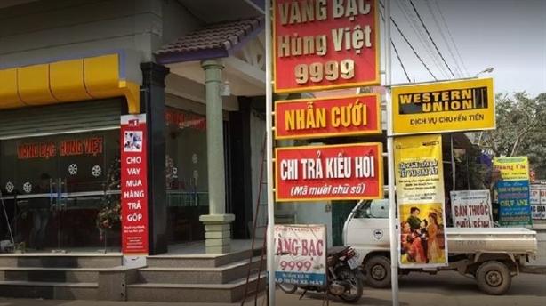 Chủ tiệm vàng mua bán ngoại tệ bị phạt kêu oan