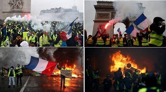 Ai đặt hàng cuộc 'cách mạng màu sắc' ở Pháp?