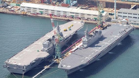 Siêu hạm F-35B Nhật mạnh hơn cả tàu sân bay Trung Quốc?