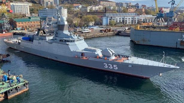 Số phận đặc biệt của chiến hạm Nga vừa nhận