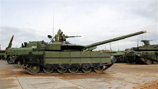 Xe tăng mạnh hơn T-90 Nga bắn đạn urani nghèo