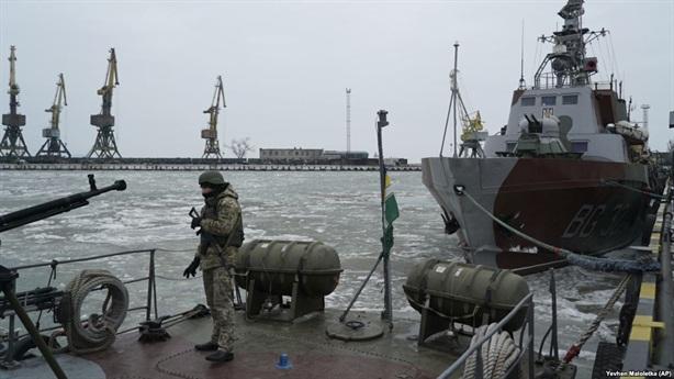 Ukraine định điều tàu chiến đến Azov vào lúc nào?