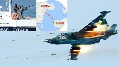 Chiến sự bùng phát đồng thời ở Donbass, Biển Đen, biển Azov?