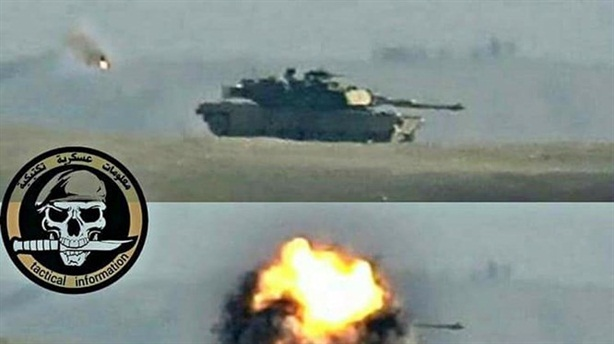 TOW tung đòn khiến Abrams lõm tháp pháo