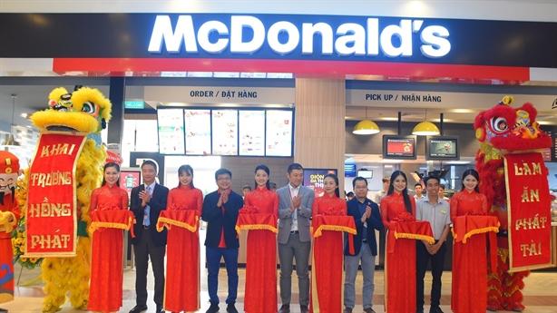McDonald's Việt Nam khai trương cửa hàng tại AEON Celadon Tân Phú