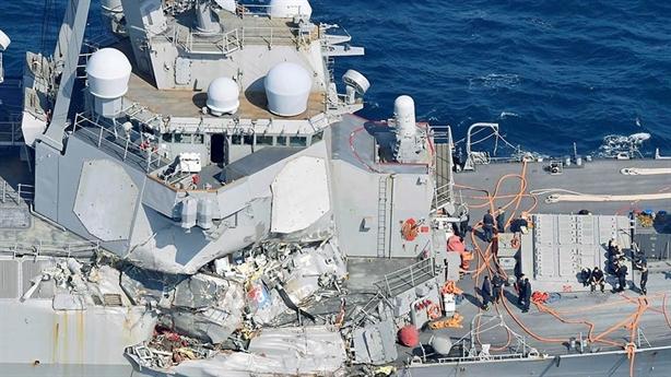 Bảy vấn đề nghiêm trọng của Hải quân Hoa Kỳ