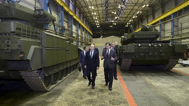 Nga mua trăm tăng Armata sau khi quyết định dừng phát triển