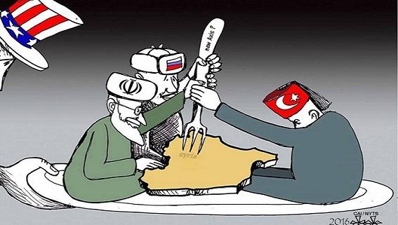 Mỹ rút quân khỏi Syria: Kiếm lệnh về tay Nga-Iran-Thổ Nhĩ Kỳ