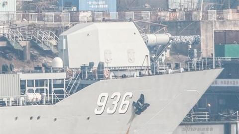 'Pháo hạm khổng lồ' của Trung Quốc bắt đầu thử nghiệm