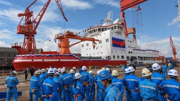 Nga, Trung Quốc vượt Mỹ trong cuộc đua thống lĩnh Bắc Cực