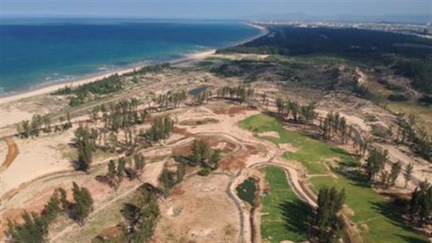 Phá rừng phòng hộ làm sân golf: Xử lý tiếp cán bộ