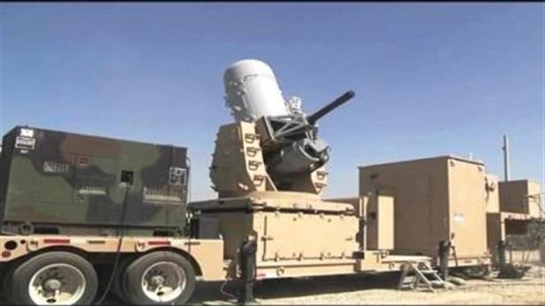 Màn đánh chặn đạn pháo cực đỉnh của hệ thống C-RAM Mỹ