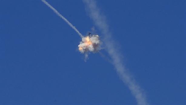 Iron Dome phóng 1 đạn diệt gọn mục tiêu