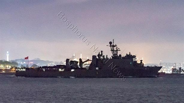 Sáu tàu chiến Mỹ tiến vào Biển Đen