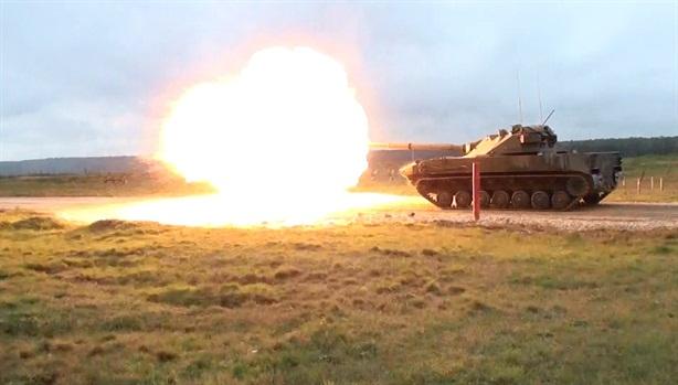 Nga thử siêu pháo tự hành diệt mục tiêu cách 5km