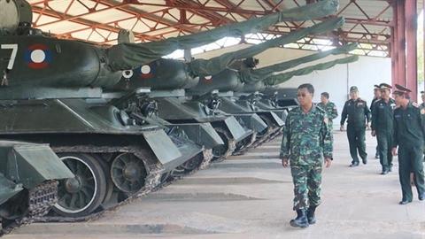 Lào đổi 30 xe tăng T-34-85 lấy T-72B1MS Đại bàng trắng