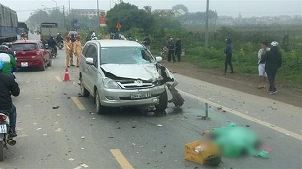 Xe Innova vượt ẩu tông chết 2 người: Nhân chứng nói gì?