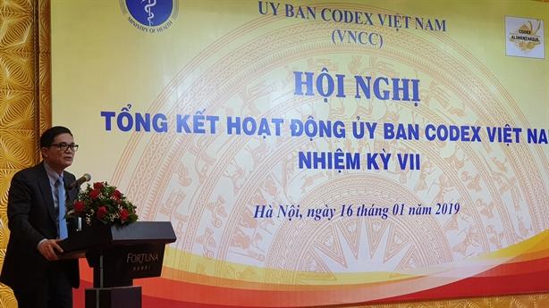 Ủy ban Codex Việt Nam: Vì an toàn người tiêu dùng