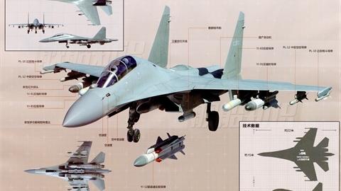 Trung Quốc chứng minh tiêm kích J-16 nâng cấp vượt xa Su-35S