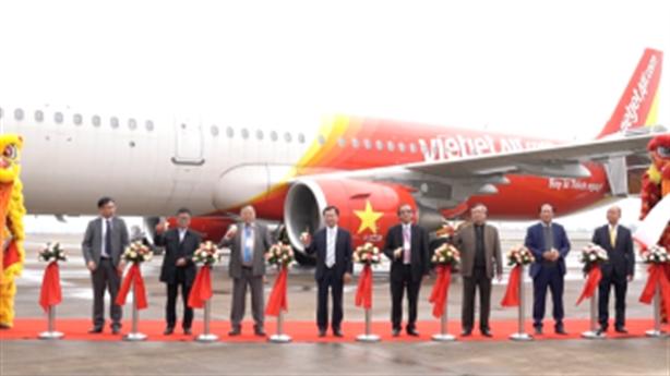 Vietjet khai trương đường bay TP.HCM–Vân Đồn (Quảng Ninh)