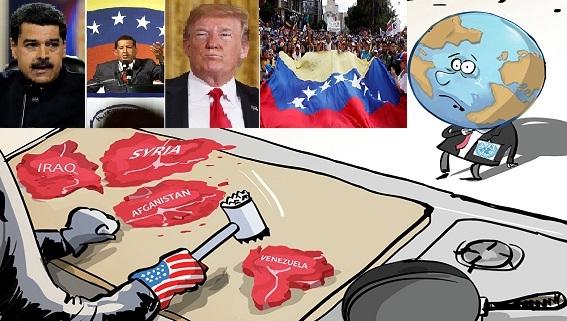 'Cách mạng màu' Venezuela sẽ đi theo kịch bản Syria, Libya, Iraq?