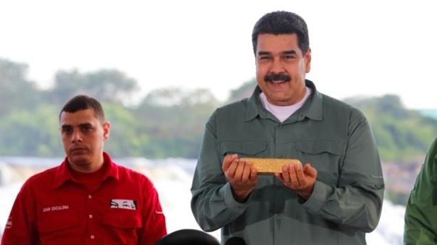 Anh dọa không trả lượng vàng cực lớn cho Venezuela