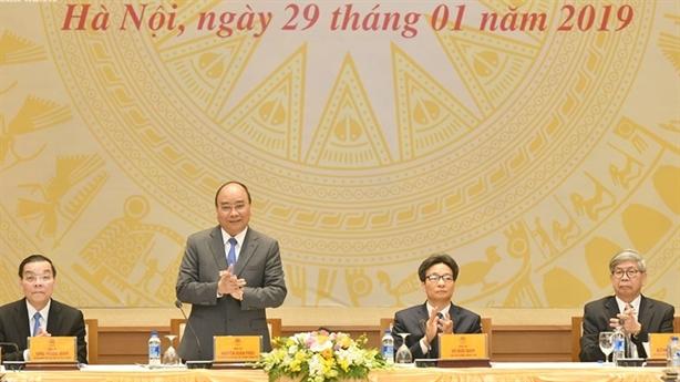 Thủ tướng Nguyễn Xuân Phúc gặp gỡ giới trí thức Việt Nam