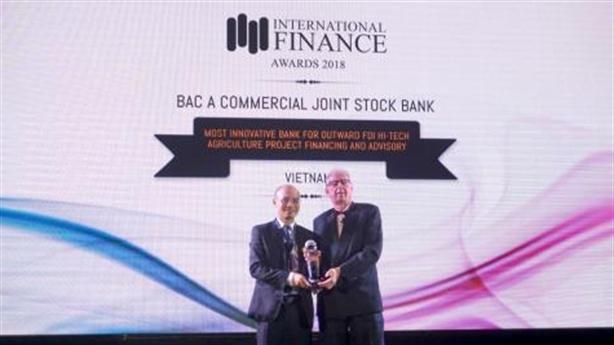 BAC A BANK được vinh danh với hai giải thưởng quốc tế